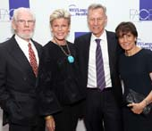 2018 FACES Gala honorees Deborah and Bill Harlan with Deborah Devinsky and FACES founder and director of NYU Langone's Comprehensive Epilepsy Center, Dr. Orrin Devinsky. (NYU Langone)