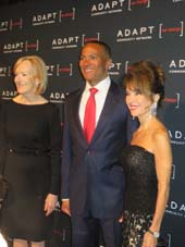 Judy Woodruff, Mike Woods and Susan Lucci.  Photo by:  Joyce Brooks/Blacktiemagazine.com