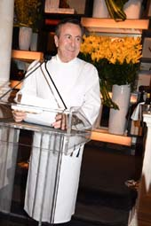 Chef Daniel Boulud.  Photo by:  Rose Billings/Blacktiemaagzine.com