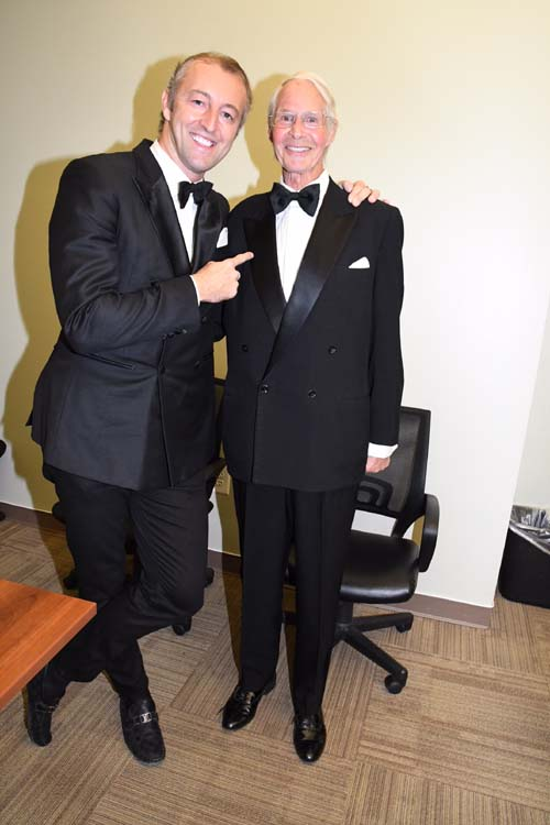 Prince Mario -Max and His Highness Prince Waldemar zu Schaumburg-Lippe.  Photo by:  Rose Billings/Blacktiemagazine.com