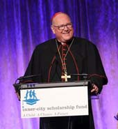 His Eminence, Timothy Michael Cardinal Dolan, Archbishop of New York.   Photo by:  Julie Robinson