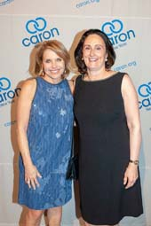 Katie Couric and honoree Elaine Grillo
