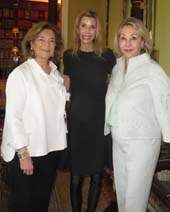 Marion Waxman, Anna Rhodes and Susan Gutfreund.  Photo by:  Joyce Brooks/Blacktiemagazine.com