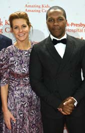 Stephanie Ruhle and Leslie Odom, Jr. Photo by:  Getty Images for NewYork-Presbyterian Hospital)