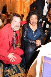 Honoree, Rufus Wainwright and Martina Arroyo.  Photo by:  Rose Billings/Blacktiemaagzine.com