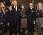 Michal Grayevsky, Jo Carole Lauder, Ronald Lauder, Alice Tisch, Ray Kelly and Barbara Winston.Photo by Amber De Vos/PMC