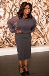 Oprah Winfrey.  Photo Courtesy Sotheby's