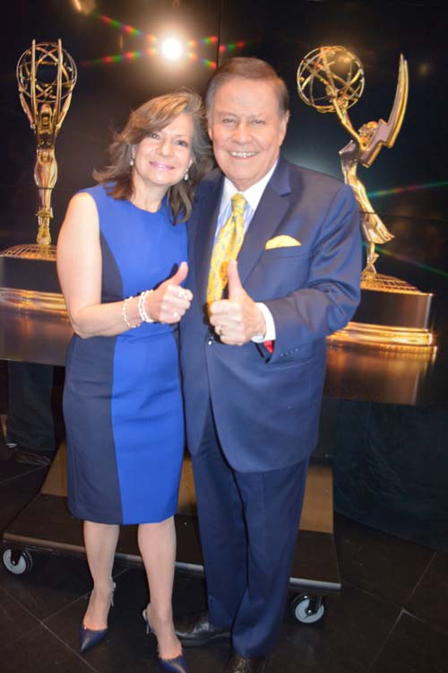 President, Denise Rover and Awards Chair, Marvin Scott. Photo by:  Rose Billings/Blacktiemagazine.com