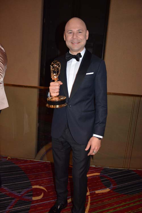 Emmy Winner. Photo by:  Rose Billings/Blacktiemagazine.com
