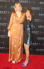 Honoree Presenter, Abigail Hawk and and Honorary Co-Chair, Susan Lucci.  Photo by:  Joyce Brooks/Blacktiemagazine.com