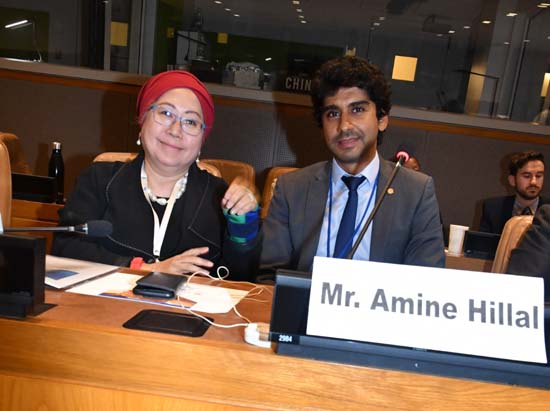 Dr. Jemilah Mahmood, Under Secretary-General for Partnerships, International Federation of Red Cross and Red Crescent Societies (IFRC) and Amine Hillal, Lead Alternative Development Finance, Islamic Development Bank Group
