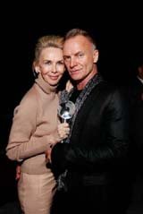 Trudie Styler, Sting � Mark Von Holden