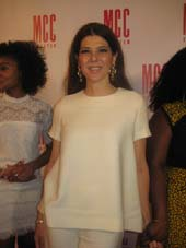 04-09-16 Honoree Marisa Tomei at the MCC Theater's annual Miscast 2016 honoring Marisa Tomei at the Hammerstein Ballroom. 311 West 34th St. .  Photo by:  Aubrey Reuben
