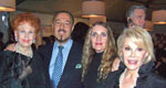Arlene Dahl, Marc Rosen, Joyce Brooks and Joan Rivers ,The Grand Opening of Le Cirque
