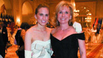Ashley Bush , Sharon Bush,Fifty-second Anniversary internationalDebutante Ball