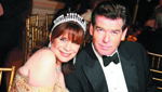 Nancy Rollnick , Pierce Brosnan.The International Red Cross Ball