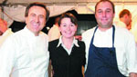 Chef Daniel Boulud, Jen Reed, Chef Zach Bell,2007 RED CROSS DESIGNERS' SHOW HOUSE