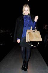 Chloë Grace Moretz Attends Sportmax Fall 2012 Show in Milan. Photo Courtesy of Max Mara