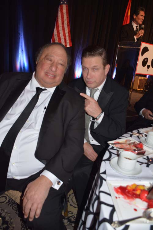 John Catsimatidis and Stephen Baldwin.  Photo by:  Rose Billings/Blacktiemagazine.com