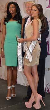 Miss USA, Nana Meriwether, Donald J. Trump, Olivia Culpo. Photo by:  Rose Billings