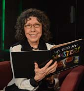 Lily Tomlin reads for SAG-AFTRA Foundation's Storyline Online (storylineonline.net). Photo courtesy of SAG-AFTRA Foundation