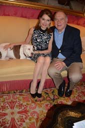 Jean Shafiroff, Martin Shafiroff, Daisy. Photo by:  Rose Billings/Blacktiemagazine.com