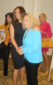 Mariska Hargitay and Carol King.  Photo by:  Joyce Brooks/Blacktiemagazine.com