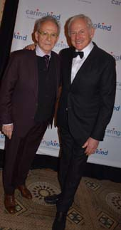 Ron Rifkin and Victor Garber.  Photo by:  Rose Billings/Blacktiemagazine.com
