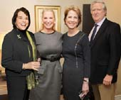 Nancy Taylor, President of Bideawee, Robin Nelson Reardon, April Russell  and Norman Nelson.  Photo by:  Annie Watt