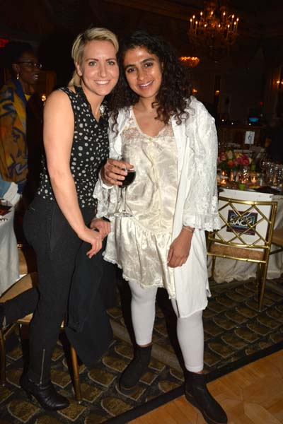 Harper Willat and Kiran Gandhi. Photo by: Rose Billings/Blacktiemagazine.com