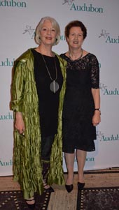 Jane Alexander (Master of Ceremonies) and Frances Beinecke ((Audubon Medal).  Photo by:  Rose Billings/Blacktiemagazine.com