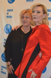 Deborra-Lee Furness, Leadership Award Recipient and Cate Blanchett, Presenter.  Photo by:  Rose Billings/Blacktiemagazine.com