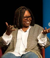 Whoopi Goldberg.  Photo Courtesy of Child Mind Institute