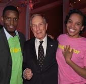 Michael Bloomberg.  Photo by:  Annie Watt