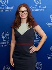 DEbra Messing.  Photo by:  Ann Billingsley/Child Mind Institute
