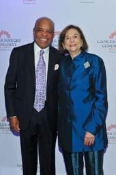 Berry Gordy and honoree Ruth Weil.  Photo by:  Vince Bucci