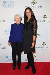 Roslyn Jaffe and Soledad O�Brien