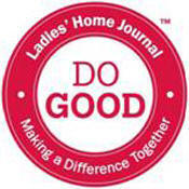 "Ladies' Home Journal - ""Do Good"" Stamp for ""Companies That Care"", JC Penney, Yahoo, Milk-Bone"