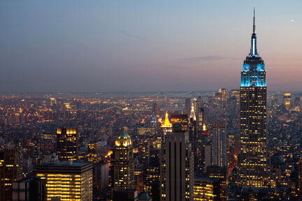 Empire Stae Building, Autism Speaks' Light It Up Blue Campaign