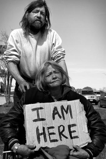 Danny and Maggie, I Am Here Campaign